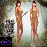 Mystic Jungle Leopard Girl