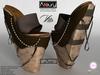 AZOURY - VITA Heels (Brown)
