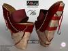 AZOURY - VITA Heels (Red)