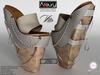 AZOURY - VITA Heels (White)