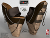 AZOURY - VITA Heels (Brown) - Bis