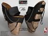 AZOURY - VITA Heels (Black) - Bis