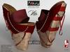 AZOURY - VITA Heels (Red) - Bis
