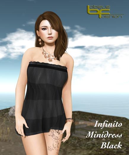 Babele Fashion :: Infinito Minidress Black