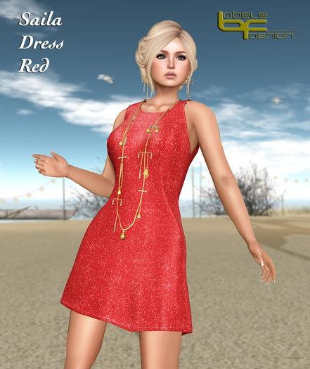 Babele Fashion :: Saila Dress Red