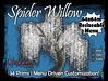 Spider Willow Tree - Menu Majik