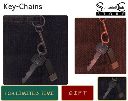 key chain of Santorini Store