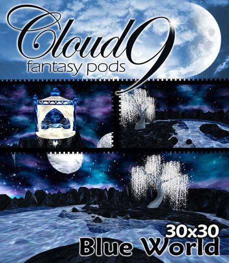 Cloud 9 - Blue World Fantasy Pod - mini