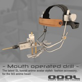 - Kawaii Drill for M3 anime head - (boxed)