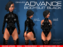 GRAVES Advance Bodysuit - Black + inclusive Omega, Slink, TMP, Lolas...