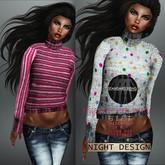 ---[g i f t ]---night's full perm rigged mesh women sweater 1