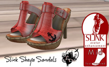 LightDesigns Sheya Sandals Red