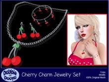 Dabble Dooya Cherry Charm Jewelry Set