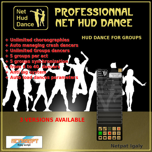 NHD Dance Hud Ultimate