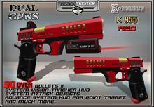 BOX BlackMaster -Guns K-955 RED (MESH) V2