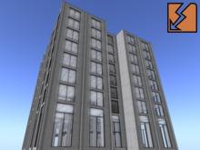 Mado Tower - Modular Multipurpose Mesh Building