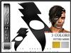 T-3D Creations [ LQ Mesh - Lighting Bolt Mask  ] LIQUID MESH with Non Rigged Mesh - Full Perm -