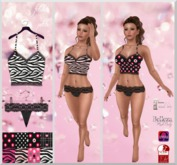 .:f etiche petite:. Girly Mini Top Pack,Pantie(incl Appliers)