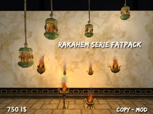 Fire bowl & Lantern Rakahem Serie FATPACK