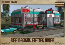 .:Bee Designs:. Fifties Diner - box