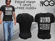 "T-Shirt ""FREE HUGS"""