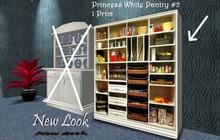 Princess White Pantry #2 - with Shadow - Resizer & FullBright Option 1LI