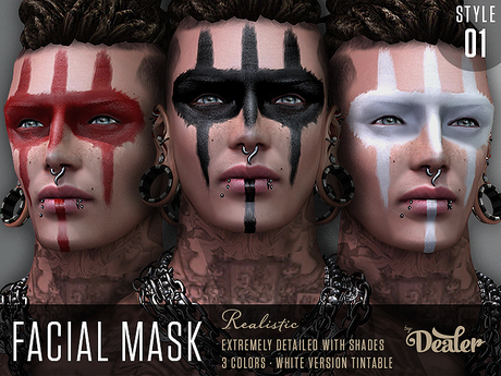 ::DEALER:: FACIAL MASK - Style 01