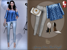 Bens Boutique - Spring Dot Mesh Outfit