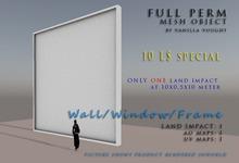 MESH Wall/Window/Frame 1LI at 10x0.5x10 (full perm)