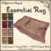 [DDD] Essential Rug