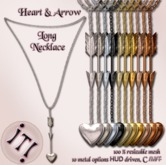 !IT! - Heart and Arrow Long Necklace