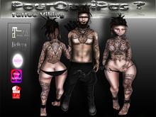 """PourQuoiPas  Tattoo """"Viking"""""""