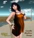 Babele Fashion :: Camilla Minidress Orange