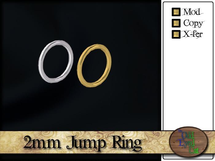 >^OeC^< Findings - Jump Ring (full perms)