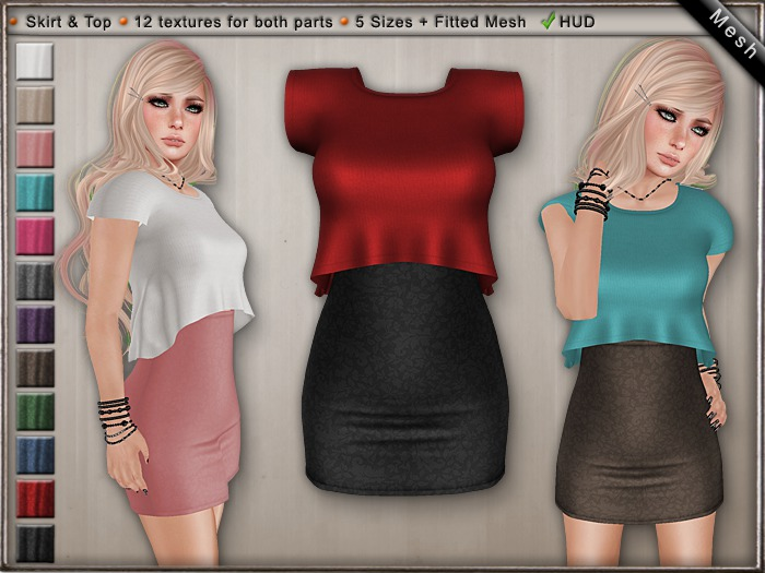 DN Mesh: Notre Outfit w HUD