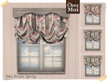 Fake Window Sweet Spring ♥ CHEZ MOI