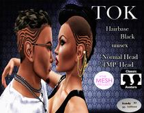 ::Kandy Tattoos::Tok::Hairbase(TMP) tattoo` black`unisex