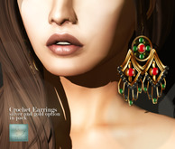 WERTINA Crochet earrings
