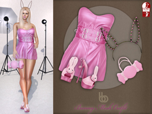 Bens Boutique - Bunny Mesh Outfit