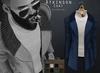 {Fe Style} Atkinson Coat - Blue W/HUD