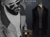 {Fe Style} Atkinson Coat - Black W/HUD