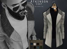{Fe Style} Atkinson Coat - White W/HUD