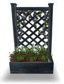 LEP ~ Patriotic Blue Trellis Summer Planter