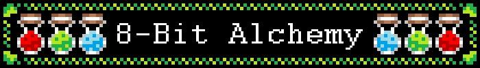 8 bit alchemy shop banner