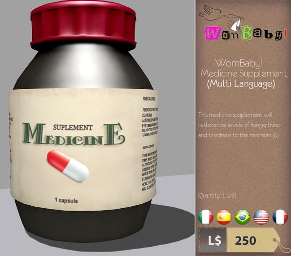 WomBaby! Medicine Supplement 2.0 (Package)