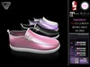 BLACK FRIDAY SALE - ILLI - [SLink,MeshProject,Belleza,Maitreya] Ciara Canvas Slip-Ons (HUD Driven)