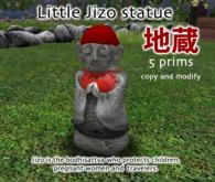 Little Jizo - baby Buddha statue
