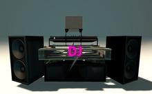 Urban DJ Booth - Black & Pink