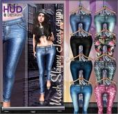 NS::  Mesh Skinny Jeans (HUD)