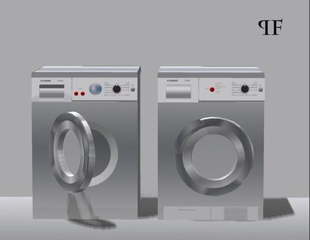 Washing & Drying machines set